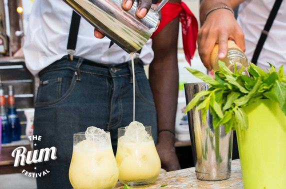 The Rum Festival at Summerhall