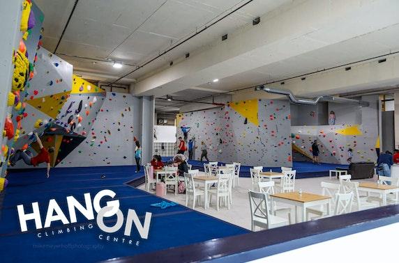 Hang On Climbing Centre, Hamilton