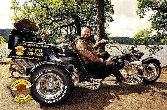 Chauffeured trike tour & photoshoot