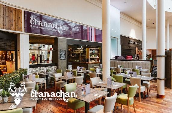 Cranachan Cafe afternoon tea