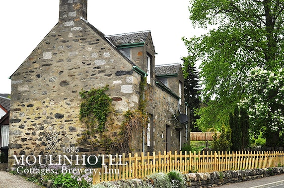 Self-catering cottage stay, Pitlochry