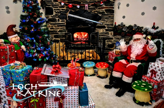 Cruise & lunch with Santa at Loch Katrine