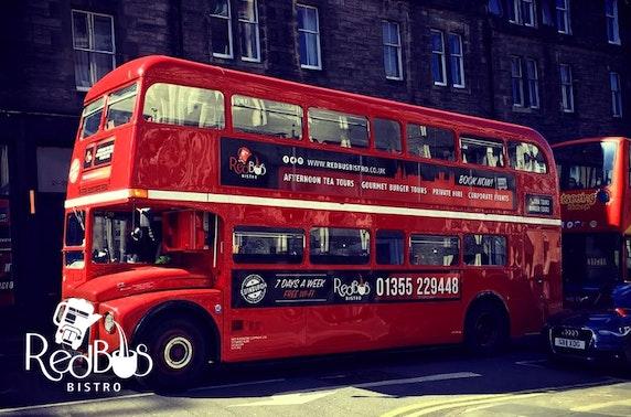 Glasgow Red Bus Bistro evening tour