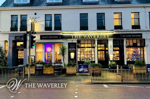 Festive party & overnight, The Waverley Hotel