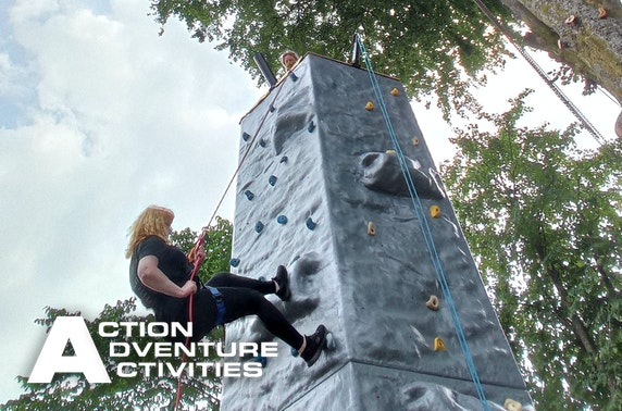 Climbing & abseiling, Stirlingshire