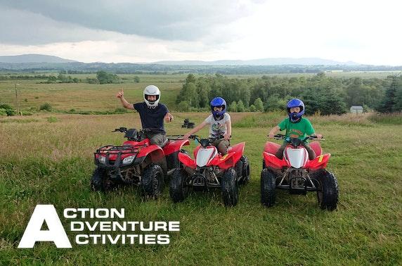 Quad biking experience, Stirlingshire