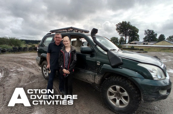 4x4 driving session, Stirlingshire