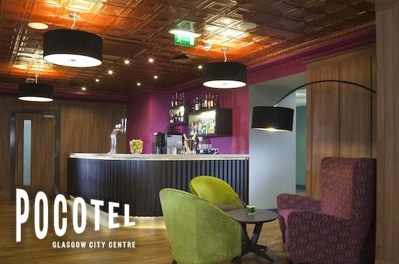 Newly-opened Pocotel Glasgow City Centre