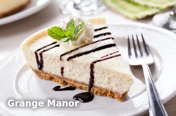 4* Grange Manor Hotel stay, nr The Kelpies