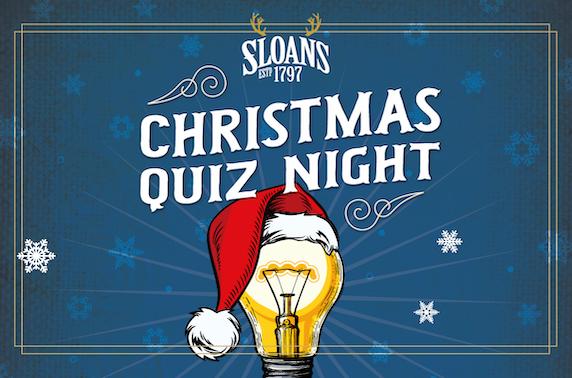 Christmas quiz night at Sloans