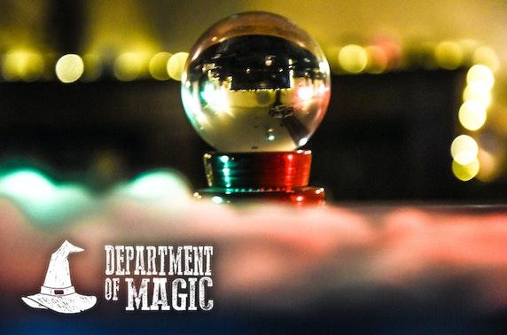 Department of Magic cocktails